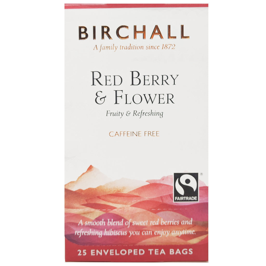 Birchall Red Berry & Flower Tea 25 Bags - Blighty's British Store