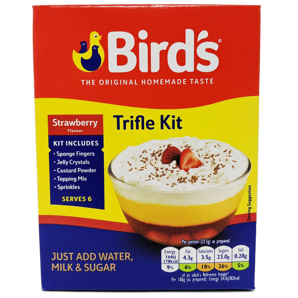 Bird's Strawberry Trifle Kit 141g - Blighty's British Store