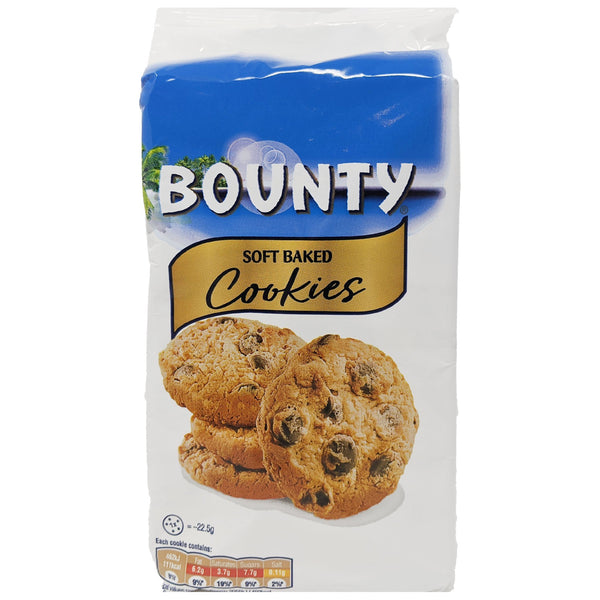 Bounty Soft Baked Cookies 180g - Blighty's British Store