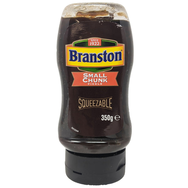 Branston Small Chunk Pickle Squeezable Bottle 350g - Blighty's British Store