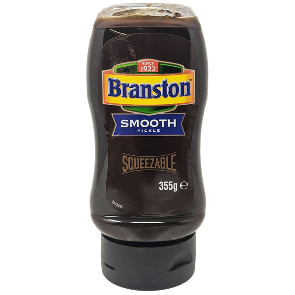 Branston Smooth Pickle Squeezable Bottle 355g - Blighty's British Store