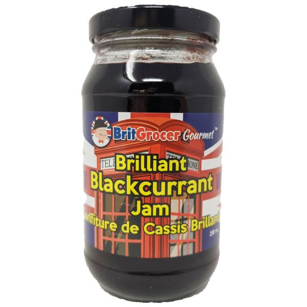 BritGrocer Brilliant Blackcurrant Jam 300g - Blighty's British Store