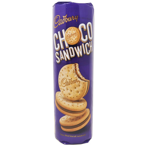 Cadbury Choco Sandwich Biscuits 260g - Blighty's British Store