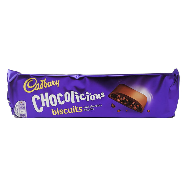 Cadbury Chocolicious Biscuits 110g - Blighty's British Store