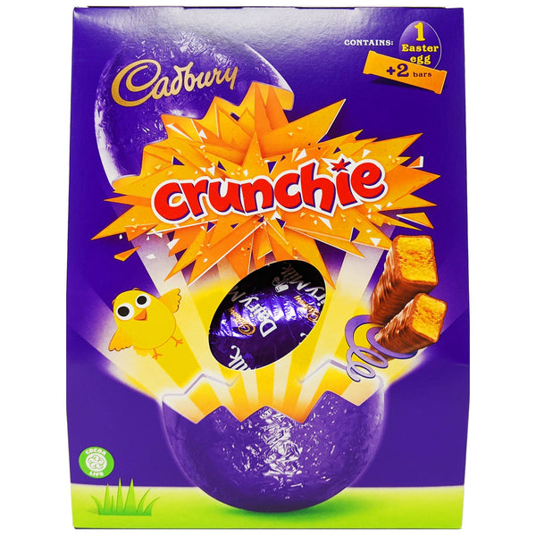 Cadbury Crunchie Easter Egg 233g - Blighty's British Store