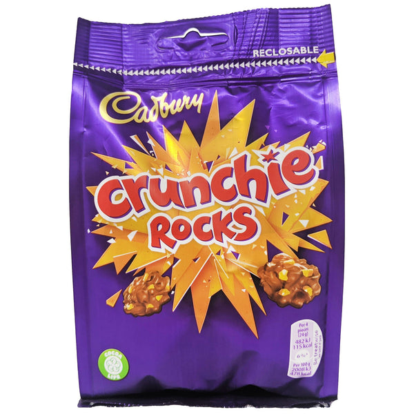 Cadbury Crunchie Rocks 110g - Blighty's British Store