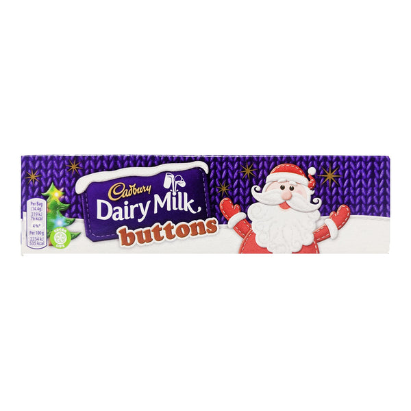 Cadbury Dairy Milk Buttons Tube 72g - Blighty's British Store