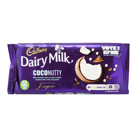 Cadbury Dairy Milk Coco Nutty 105g - Blighty's British Store