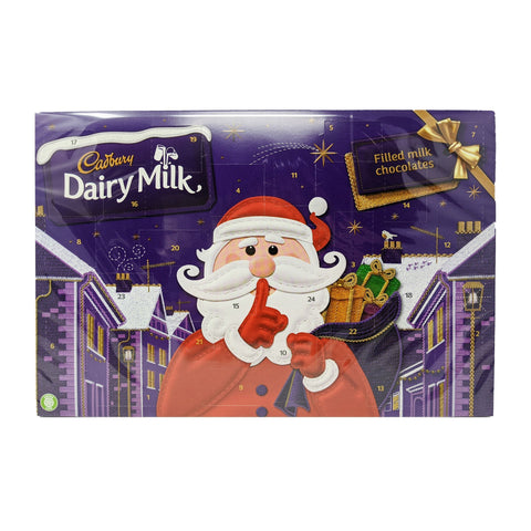 Cadbury Dairy Milk Filled Milk Chocolates Advent Calendar 200g - Blighty's British Store