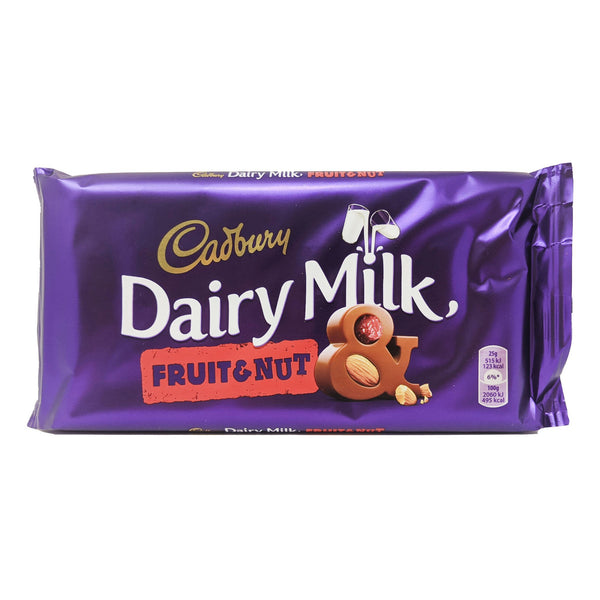 Cadbury Dairy Milk Fruit & Nut 200g - Blighty's British Store