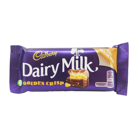 Cadbury Dairy Milk Golden Crisp 54g - Blighty's British Store