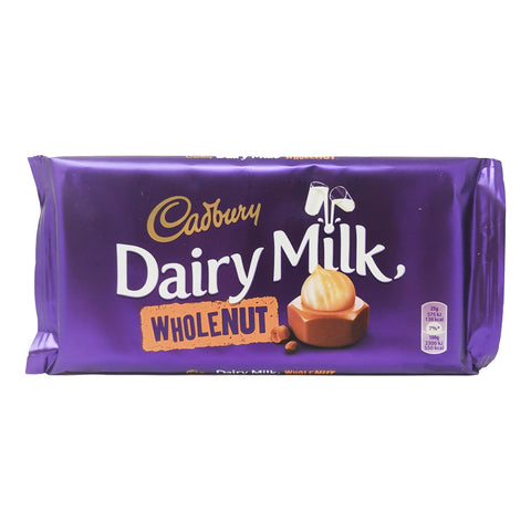 Cadbury Dairy Milk Whole Nut 200g - Blighty's British Store