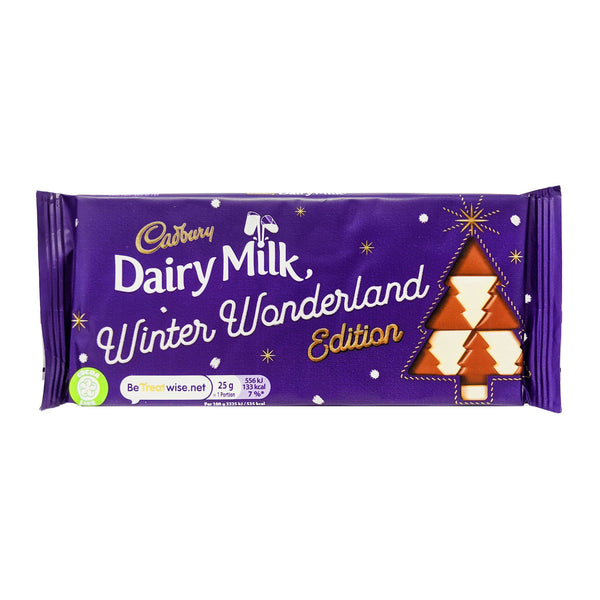 Cadbury Dairy Milk Winter Wonderland Edition 100g - Blighty's British Store