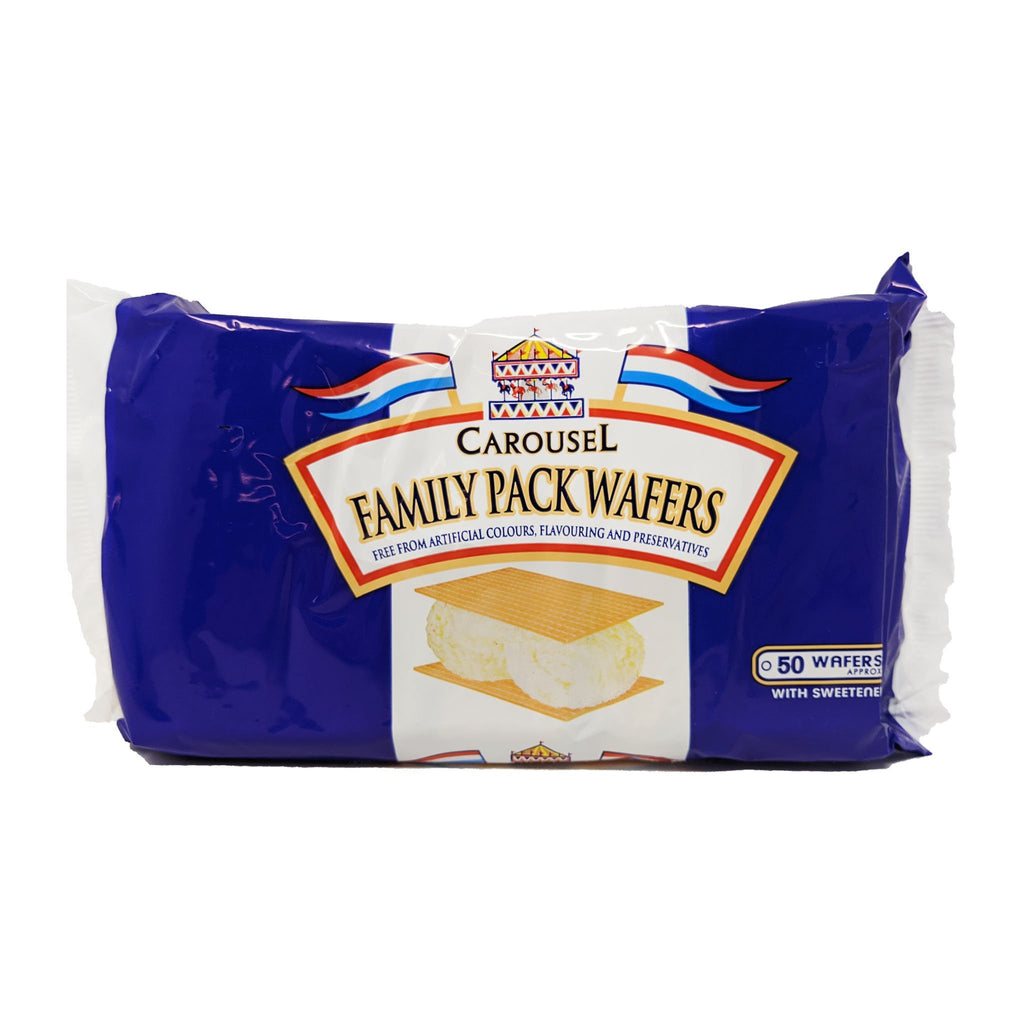 Carousel Family Pack Wafers 75g - Blighty's British Store
