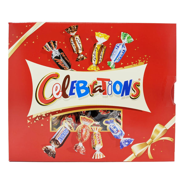Celebrations Gift Box 320g - Blighty's British Store