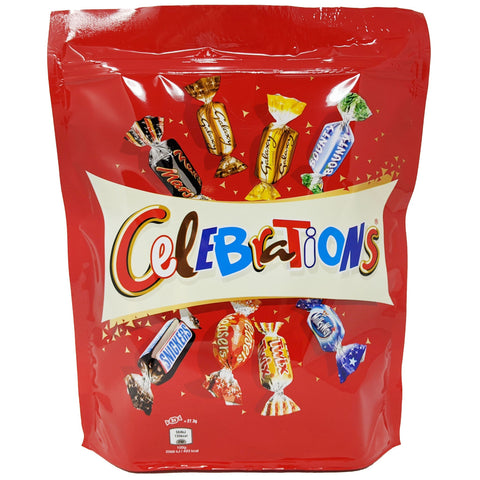 Celebrations Pouch 400g - Blighty's British Store
