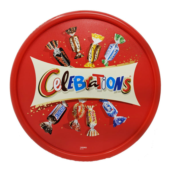 Celebrations Tub 650g - Blighty's British Store