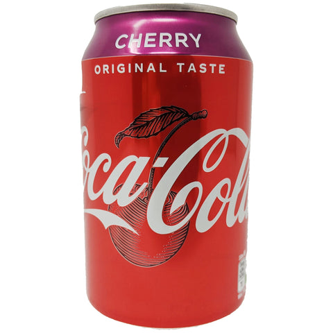 Coca-Cola Cherry 330ml - Blighty's British Store
