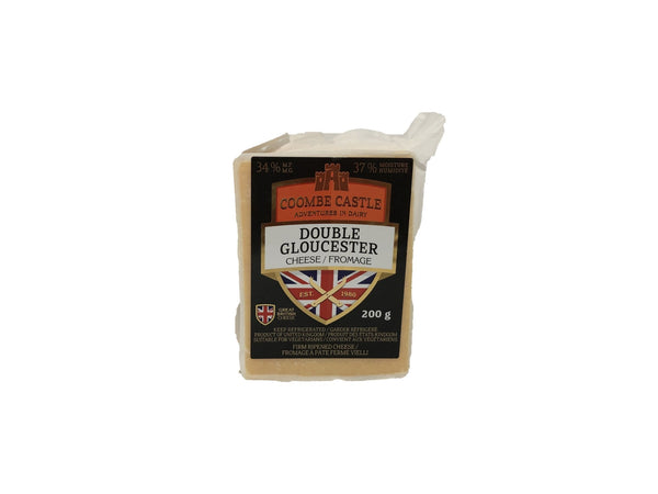 Coombe Castle Double Gloucester Cheese - Blighty's British Store