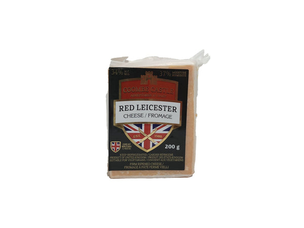 Coombe Castle Red Leicester Cheese - Blighty's British Store