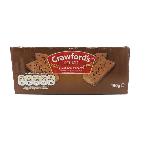Crawford's Bourbon Creams 150g - Blighty's British Store