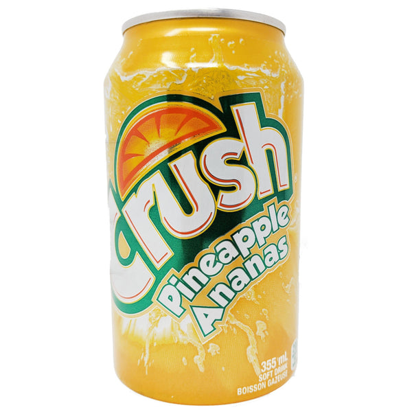 Crush Pineapple 355ml - Blighty's British Store