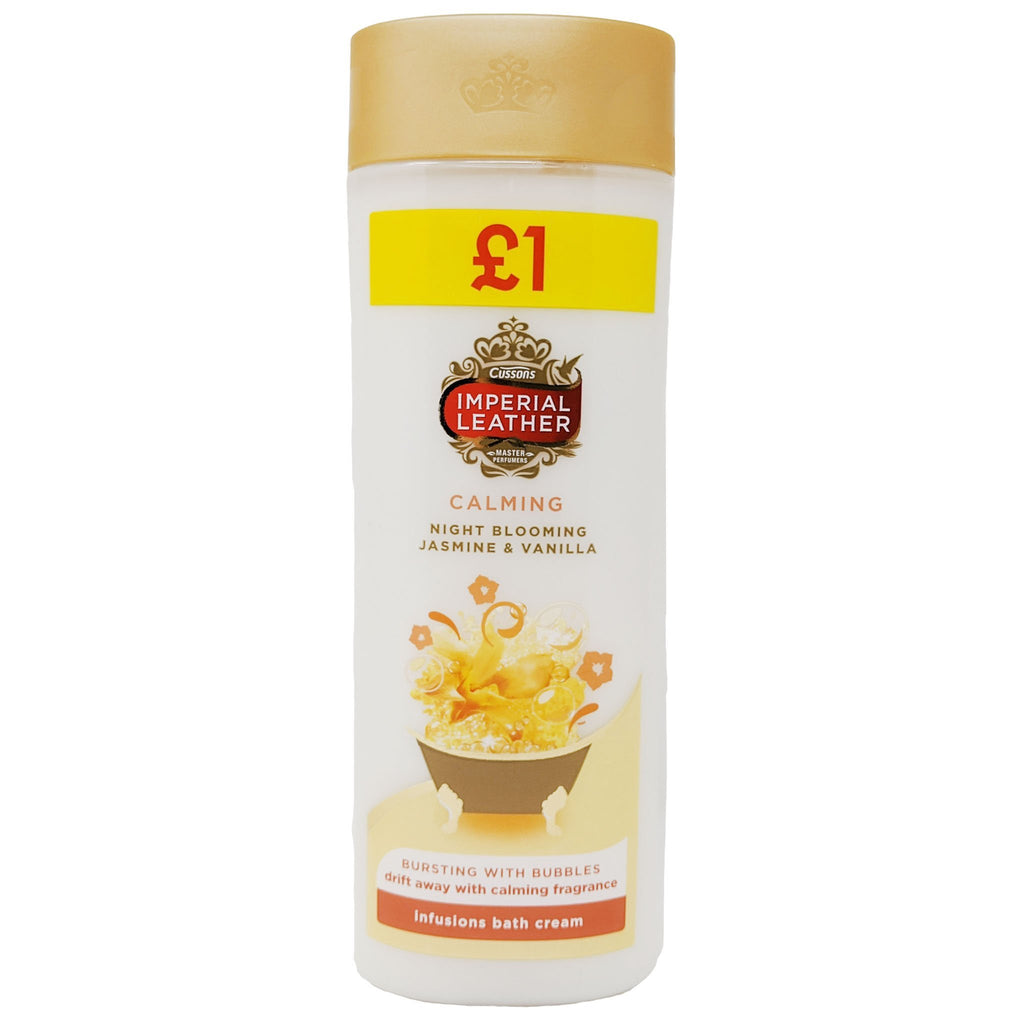 Cussons Imperial Leather Calming Bath Cream - Blighty's British Store