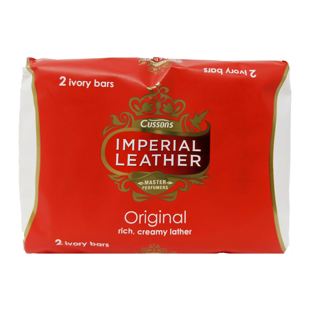 Cussons Imperial Leather Original Bar Soap 2 Pack - Blighty's British Store