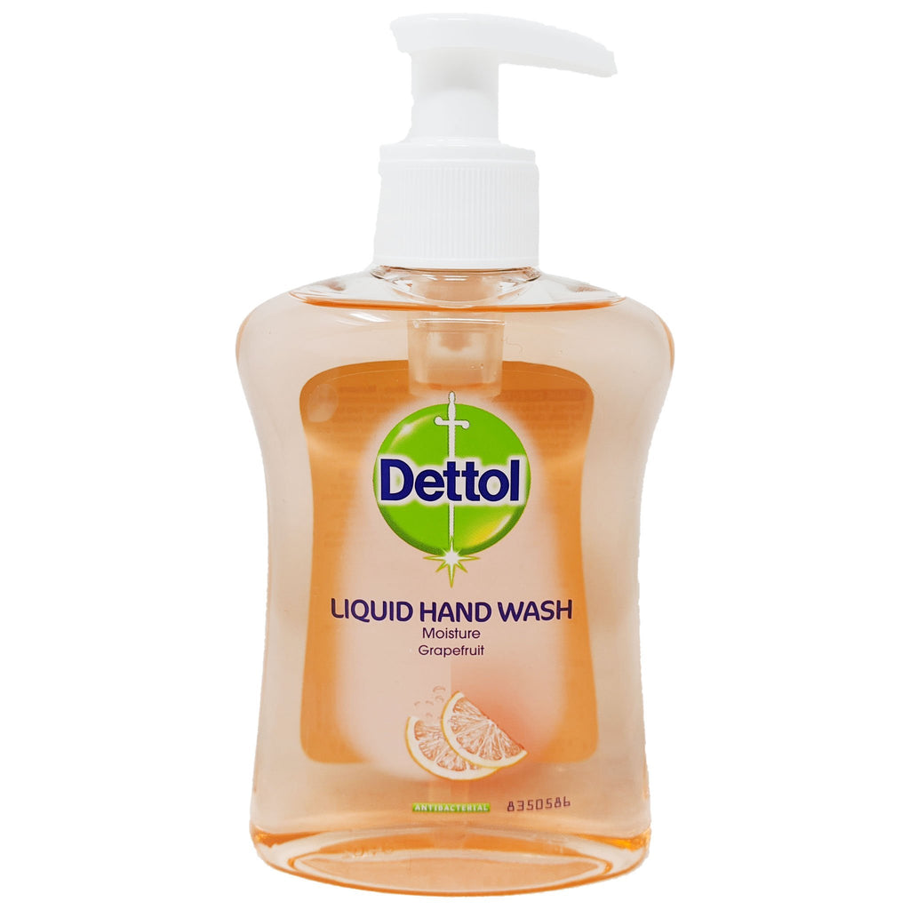 Dettol Liquid Hand Wash Grapefruit 250ml - Blighty's British Store