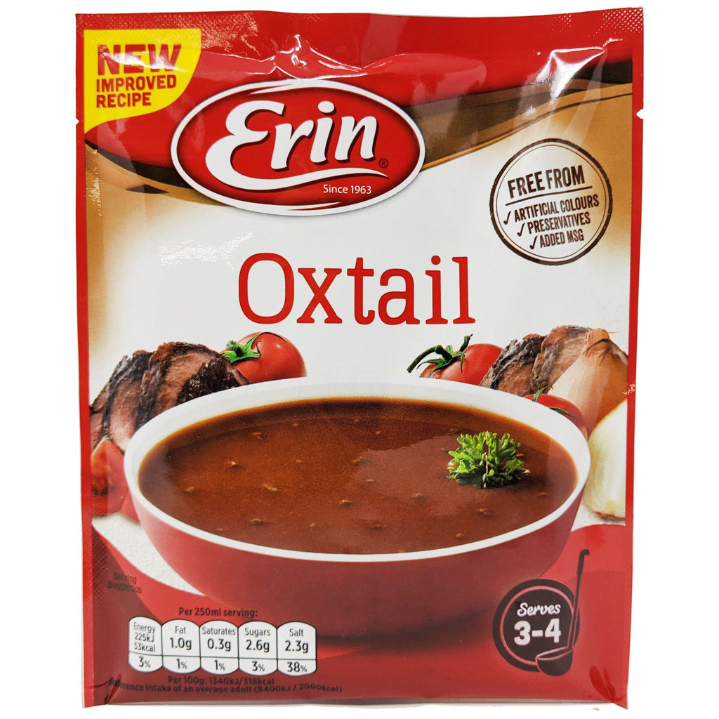Erin Oxtail Soup 57g - Blighty's British Store
