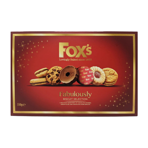 Fox's Fabulously Biscuit Selection 550g - Blighty's British Store