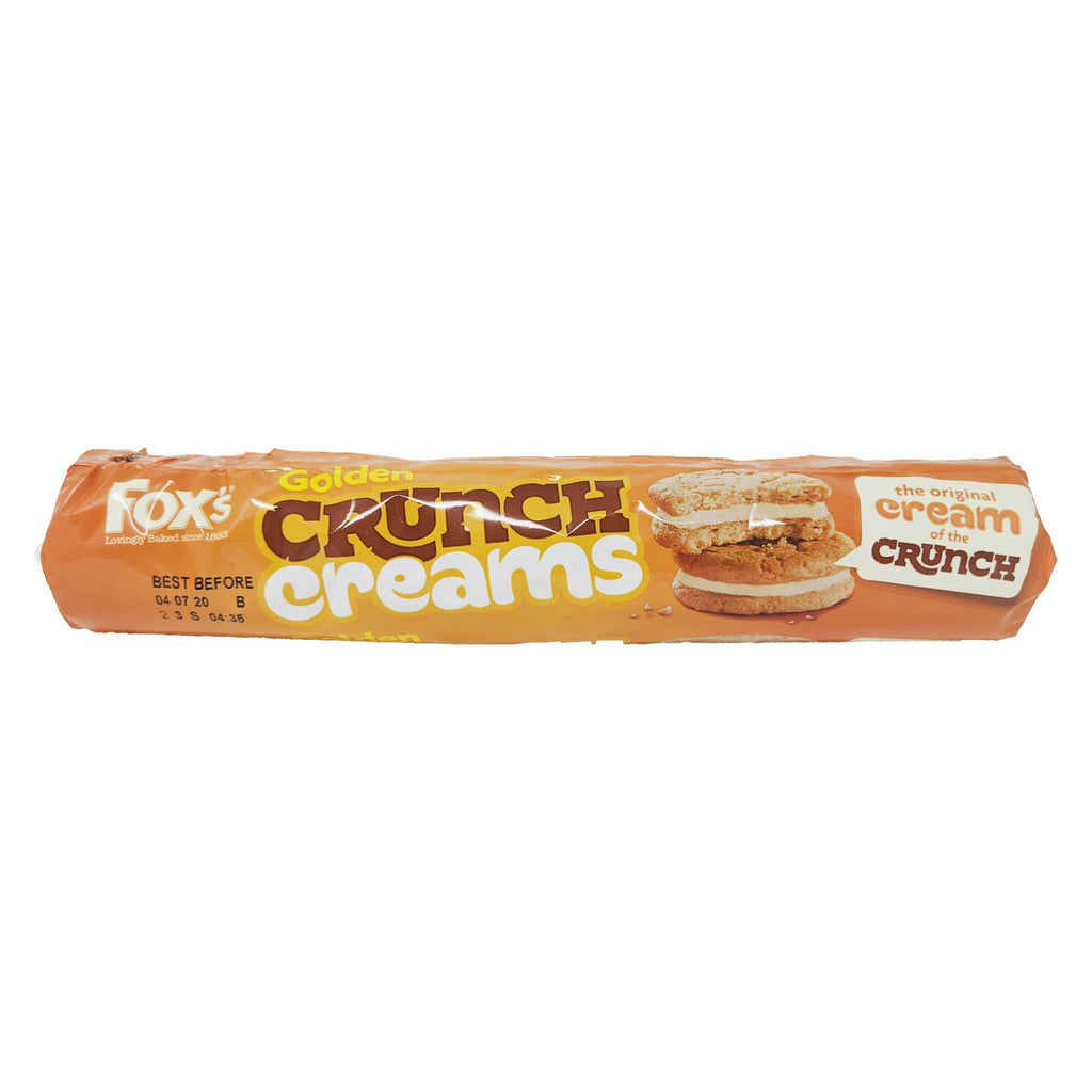 Fox's Golden Crunch Creams 230g - Blighty's British Store