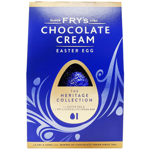 Fry's Chocolate Cream Easter Egg 159g - Blighty's British Store