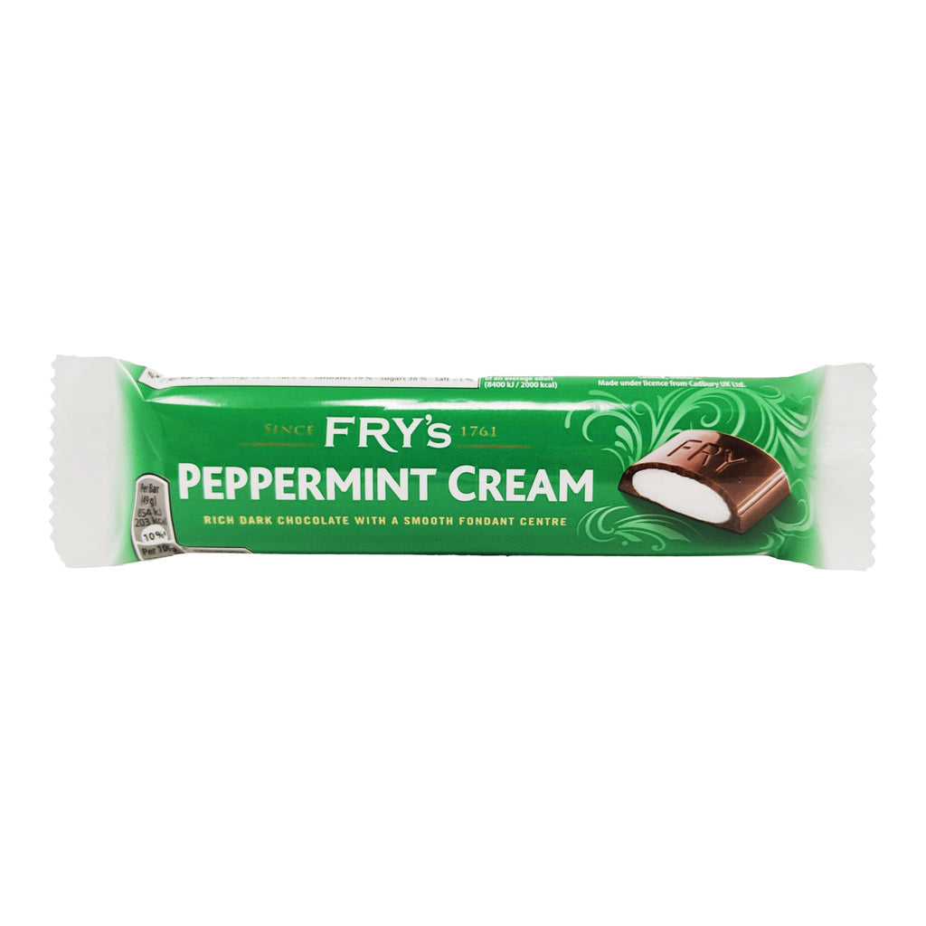Fry's Peppermint Cream 49g - Blighty's British Store