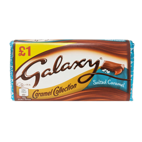 Galaxy Caramel Collection Salted Caramel 135g - Blighty's British Store