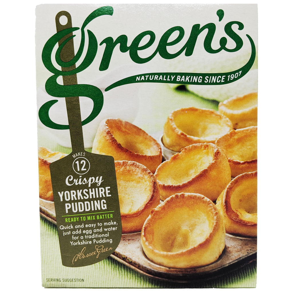 Green's Yorkshire Pudding Mix 125g - Blighty's British Store