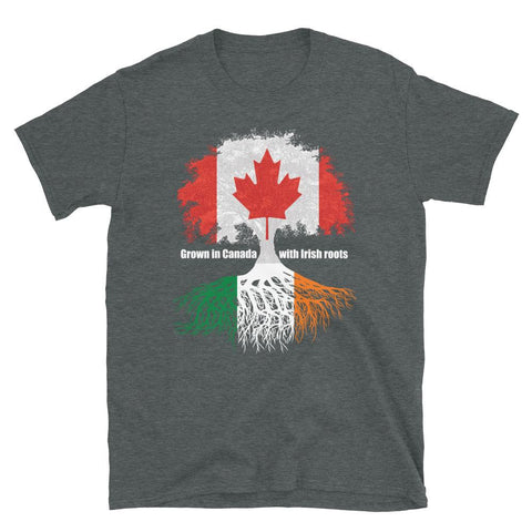 Grown in Canada With Irish Roots Unisex T-Shirt - Blighty's British Store