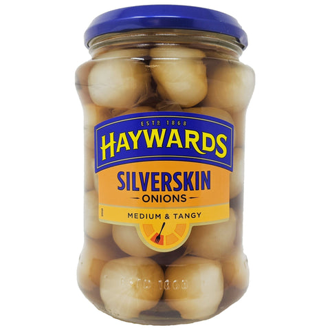 Haywards Silverskin Pickled Onions Medium & Tangy 400g - Blighty's British Store