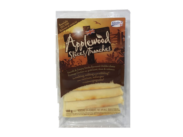 Ilchester Smoked Applewood Cheddar Slices - Blighty's British Store