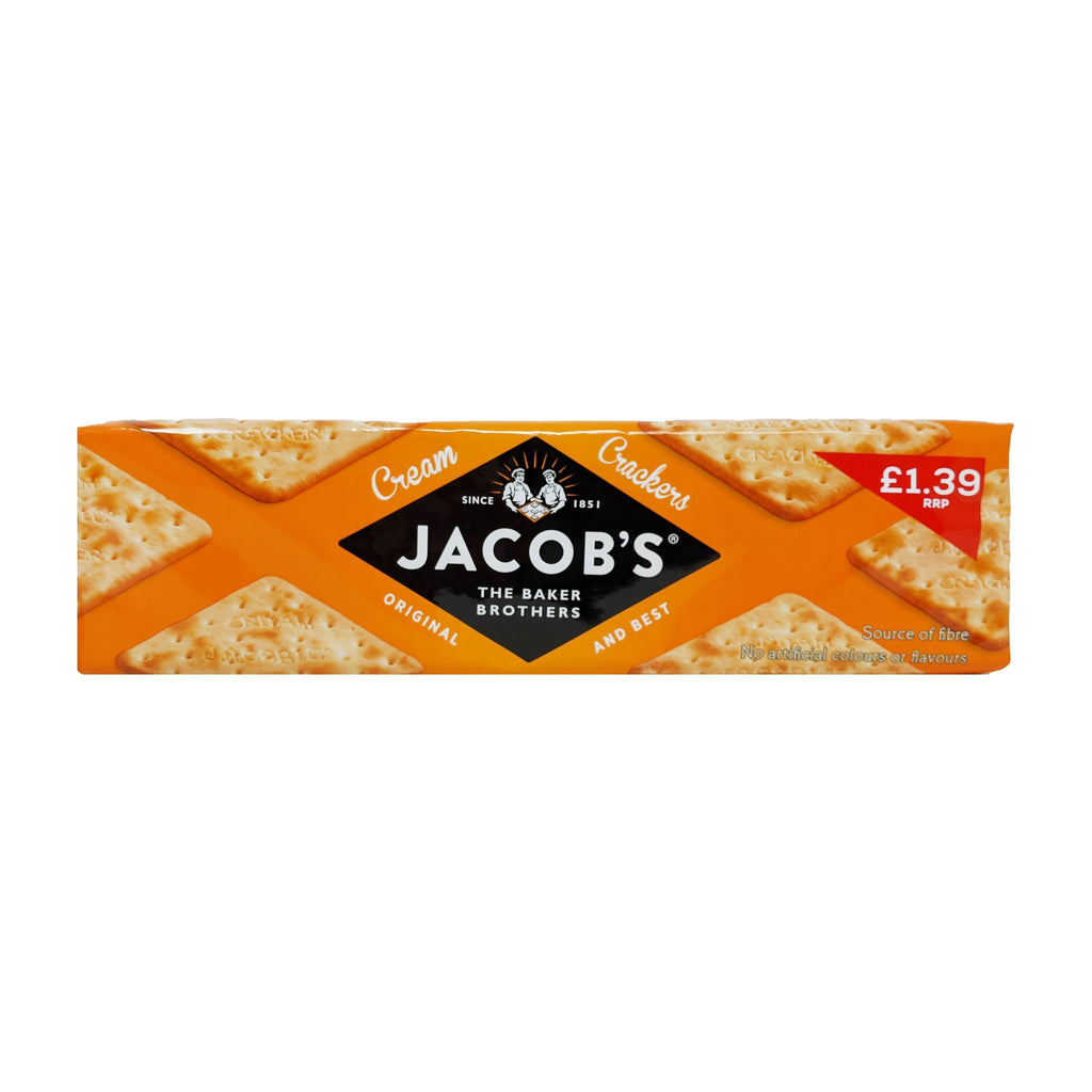 Jacob's Cream Crackers 300g - Blighty's British Store