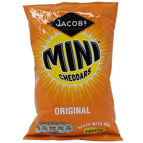 Jacob's Mini Cheddars Original 50g - Blighty's British Store
