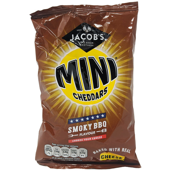 Jacob's Mini Cheddars Smoky BBQ 50g - Blighty's British Store