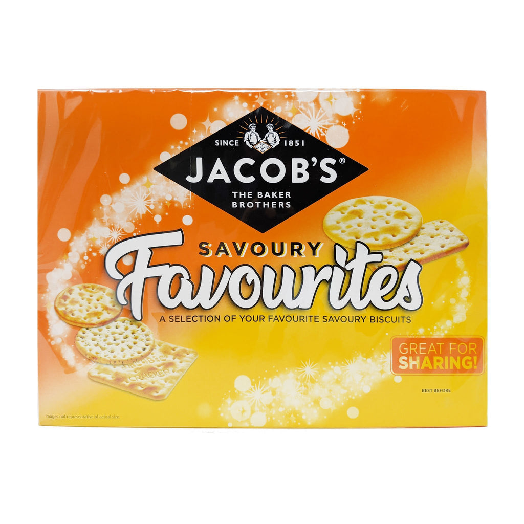 Jacob's Savoury Favourites Selection 200g - Blighty's British Store