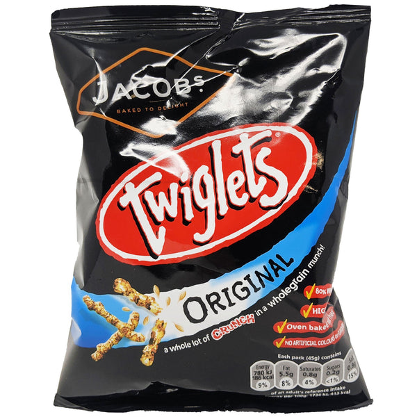 Jacob's Twiglets 45g - Blighty's British Store