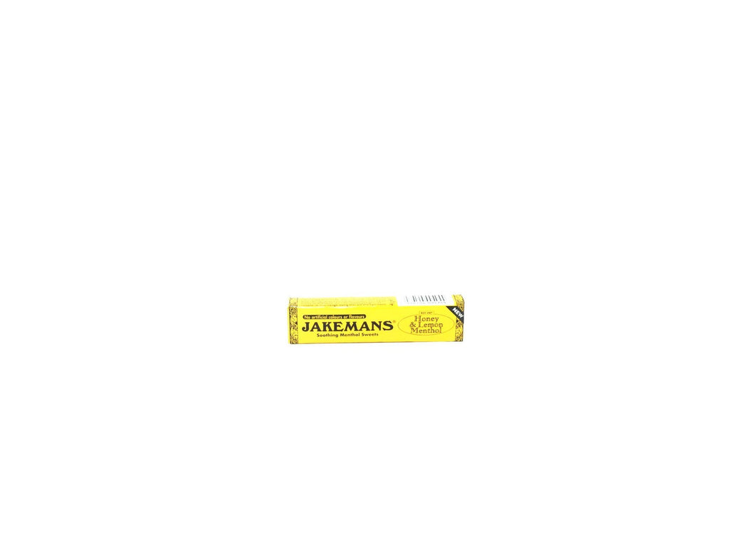 Jakemans Honey & Lemon Menthol 41g - Blighty's British Store