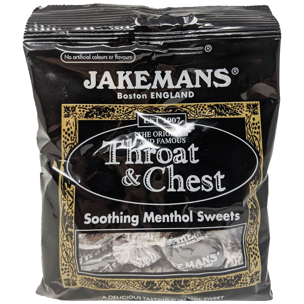 Jakemans Throat & Chest Menthol 100g - Blighty's British Store