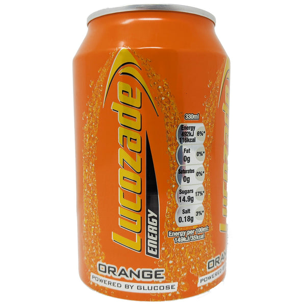 Lucozade Orange 330ml - Blighty's British Store