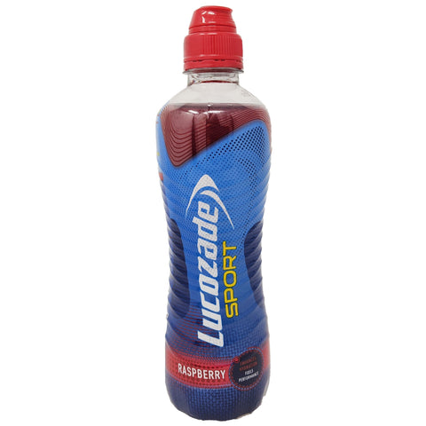 Lucozade Sport Raspberry 500ml - Blighty's British Store