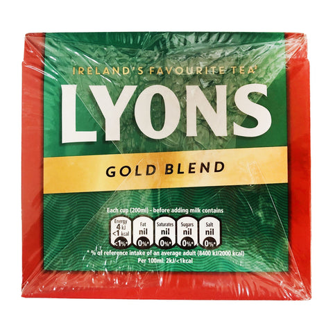 Lyons Gold Blend Tea 40 Bags - Blighty's British Store