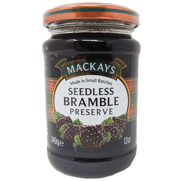 Mackays Seedless Bramble Preserve 340g - Blighty's British Store